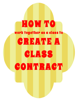 FREE Class Contract