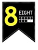 FREE Classroom Decor Number Pennants 0- 30