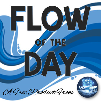 FREE Classroom Management Flow of the Day Pocket Chart Signs