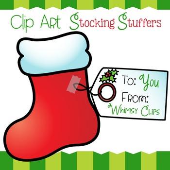 FREE Clip Art Stocking Stuffers