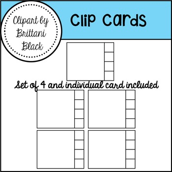 FREE~ Clip Cards Clipart
