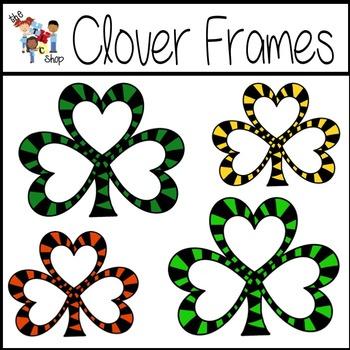 FREE! Clover Frames