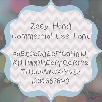 FREE Commercial Use Font - Zoey Hand