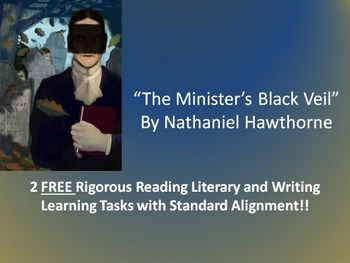 FREE Common Core Activities for Nathaniel Hawthorne's The