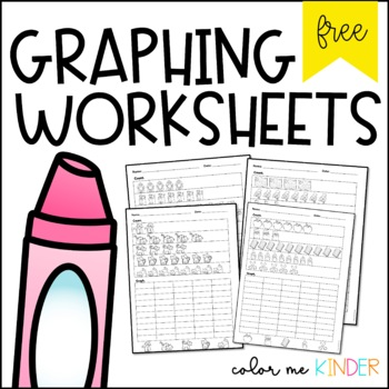 FREE Graphing NO PREP Printables for Little Learners