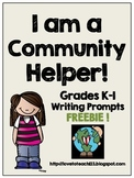 FREE Community Helper Writing Prompts