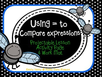 FREE Comparing Expressions through 20 Common Core Math
