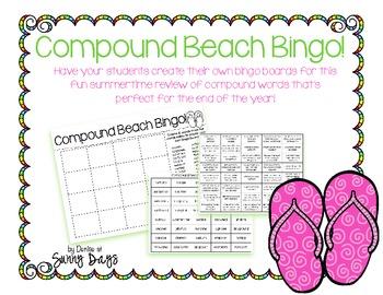 FREE Compound Beach Bingo