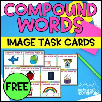 *FREE* Compound Word Images Task Cards