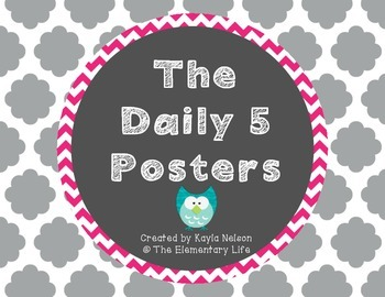 FREE Daily 5 Posters