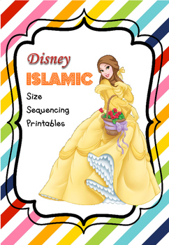 FREE Disney-Inspired Islamic Size Sequencing