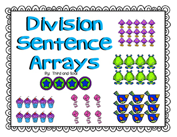 FREE Division Array Task Cards