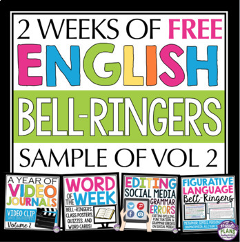 FREE ENGLISH BELL RINGERS (Sign Up Welcome Gift)