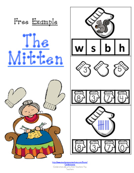 FREE  EXAMPLE-THE MITTEN