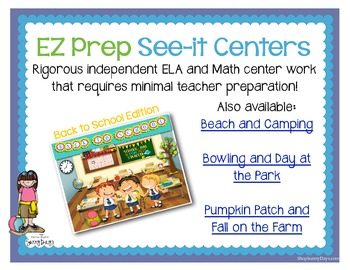 FREE EZ Prep See-it Centers