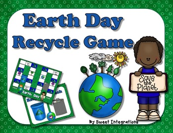 Earth Day Recycle Board Game