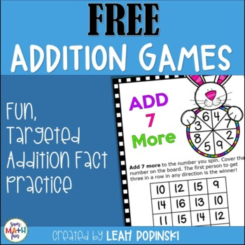 Easter FREE Addition Game