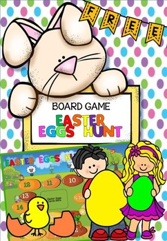 FREE Easter Eggs Hunt board game