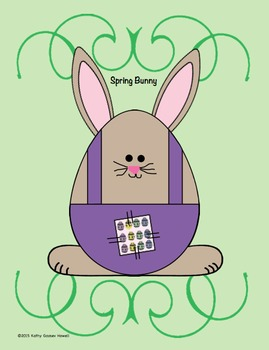Egg-Shaped Spring Bunny - FREE