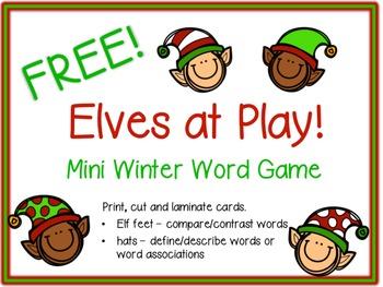 FREE!  Elves at Play