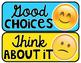 FREE Emoji Behavior Clip Chart