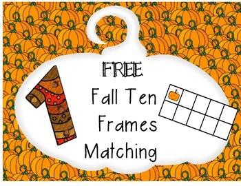 FREE FALL ten frames