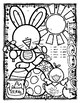 FREE ☼ PÂQUES Colour By Number Easter Bunny