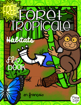 FREE - FRENCH Habitats Flip Book