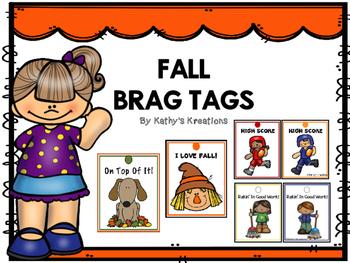 FREE  Fall Brag Tags