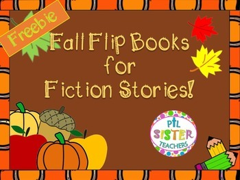 FREE Fall Flip Books for Fiction Stories
