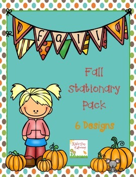 FREE Fall Stationery Pack