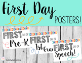 FREE First Day Posters!