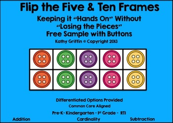 FREE Flip the 5 and 10 Frames Button Set