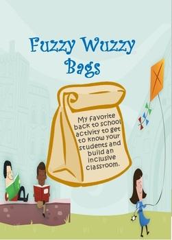 FREE Fuzzy Wuzzy Bags - Inclusive Classroom Activity