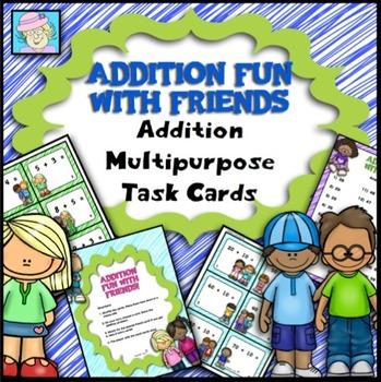 Multipurpose Task Cards: Addition