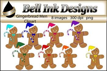 FREE Gingerbread Men Clipart