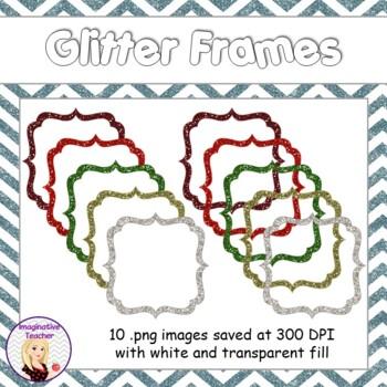 FREE Glitter Frames