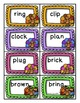 Thanksgiving Game: CVC Words, Blends, and Digraphs FREE