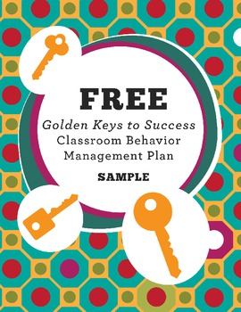 FREE Classroom Behavior Management Sample