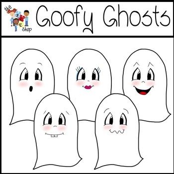FREE! Goofy Ghosts