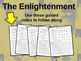 FREE Guided Notes for the Enlightenment (philosophers, Fre