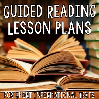 [Guided Reading Plans] for Nonfiction