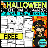 FREE HALLOWEEN | Graphic Organizers for Reading | Reading