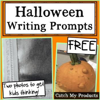 FREE Halloween Writing Prompt