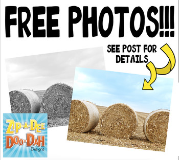 FREE Hay Bails Stock Photos Pack — Includes Commercial License!