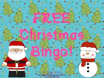 FREE Holiday Bingo!