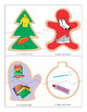 FREE Holiday Cookie Go Togethers Puzzles