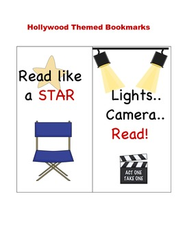 FREE Hollywood Bookmarks