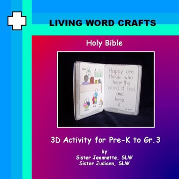 Holy Bible for Grades Pre K to Gr. 3