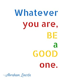 FREE Inspiring Poster and Printable for Your Classroom! {A